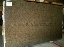 Polished Tropical Gold Granite Slab(good Thickness
