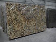 Polished Zeus Gold Granite Slab(good Polished)