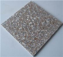 Polished Zhangpu Red Granite Tile(own Quarry)