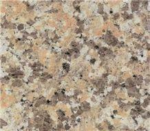 Yellow Rose Granite Slabs, China Pink Granite