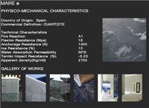 Mare Cuarcita Floor and Wall Tiles, Quartzite