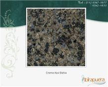 Creme Azul Bahia, Granite Slabs