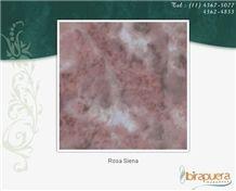 Rosa Siena Marble Slabs, Brazil Red Marble