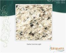 Santa Cecilia Light, Granite Slabs