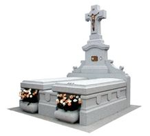 White Amanecer Granite Monument, Amanecer White Granite