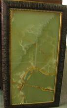 Kerman Green Onyx, Onice Verde Persiano Green Onyx Tiles