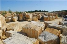 Zerkowice Sandstone Blocks, Poland Beige Sandstone