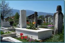 White Marble Monuments, Tombstones, Sivec AB White Marble