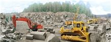 Own Quarry Karelia Black Granite Blocks