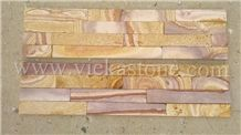 China Culture Stone Wall Panel/Ledgestone/Stacked Veneer 60x15cm
