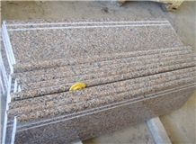 G562 B Granite Polished and Flamed Step and Stair