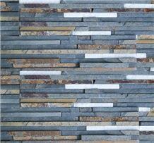 Taco Amazon Green Slate Wall Cladding Panel, Verde Lugo Green Slate Wall Cladding