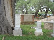 Family Cemetery, Tombstones, Mount Airy White Granite Tombstones