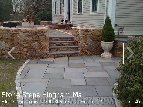 Pa Blue Stone Walkway With Stone Steps Pennsylvania Blue