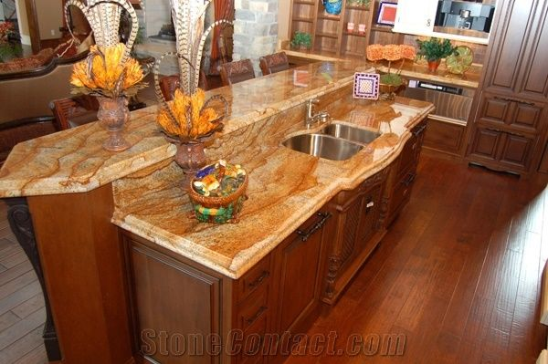 Verniz Tropical Granite Kitchen Countertop Verniz