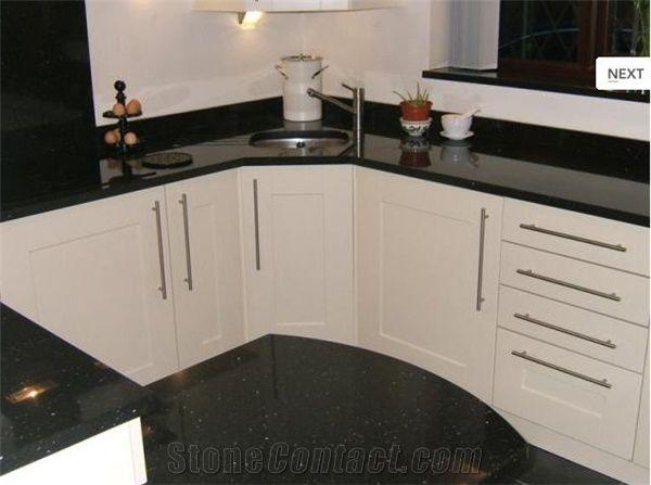 Nero Angola Granite Kitchen Countertop Angola Black