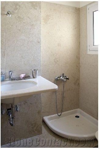 Limestone Bathroom Wall Tiles Design