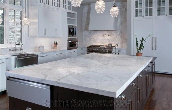 Calacatta Gold Marble Kitchen Countertop Calacatta Gold