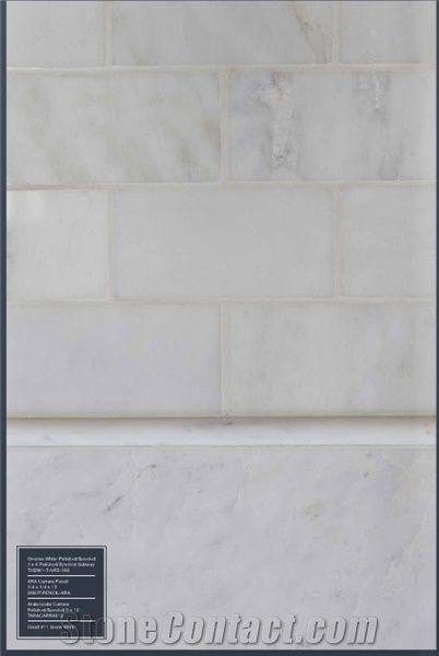 Grecian White Marble Polished And