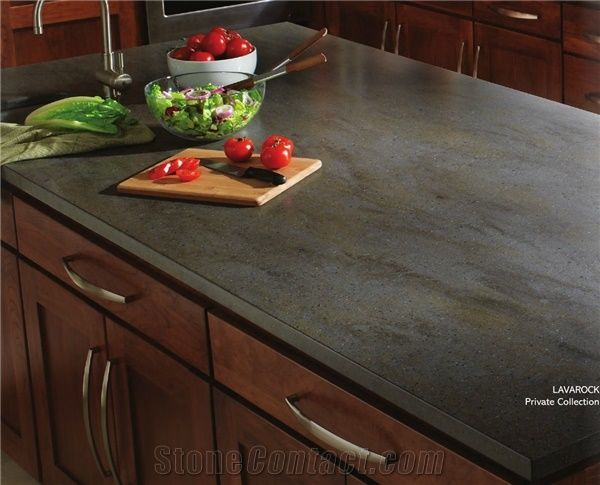 Lavarock Corian Solid Surface Kitchen Countertop From