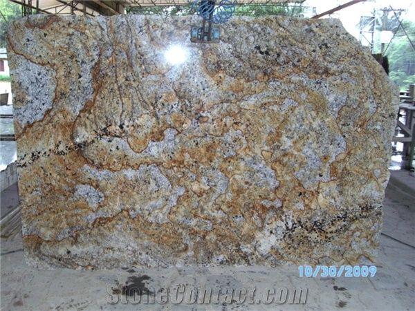 Granite Slabs Juparana Golden Kam