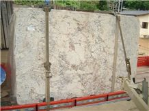 Roman White Granite Slabs, Bianco Romano Granite