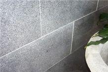 Polished Storm Granite Tiles , Kimberley Storm Black Granite Tiles