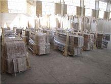Iran Walnut Travertine Tiles, Persian Walnut Travertine, Walnut Mahallat Travertine Slabs