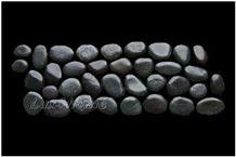 Black Sumatra Pebble Borders