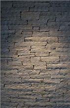 Split Face Kavalas Slate Stacked Stone, Kavalas Grey Slate Stacked Stone