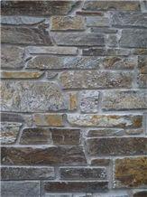 Stenari Kavalas Slate, Walling, Kavalas Grey Slate Ledge Stone