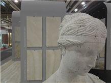 Travertino Romano Antico Carved Sculpture