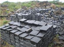 Grey Basalt Tiles, Viet Nam Black Basalt