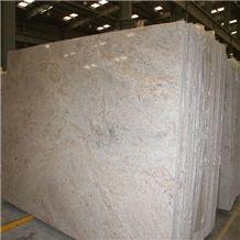 Kashmir Cream Granite Slab, India Beige Granite