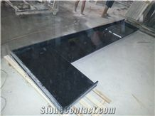 India Black Star Nero Galaxy Gold Granite Polished Kitchen Countertop in China Stone Market