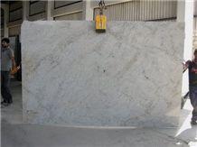 Ivory White Granite Slabs