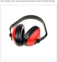 Ear Muff, Ear Hearing Protection Muff Muffs Plugs
