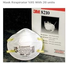 Mask Respirator N95 with 20 Units