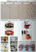 Bush Hammer Tools for Sandblasting on Marble
