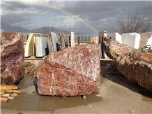 Red Eretria Marble Blocks