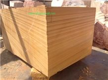 Woodstone Blocks, Wooden Sandstone Blocks, Sandstone Blocks, Golden Teakwood Sandstone