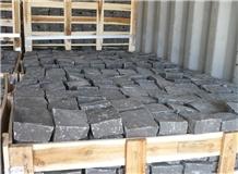 Black Basalt Cobble Stone, Vietnam Black Basalt