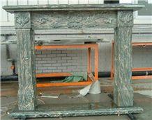 Fireplace Mantel Green Granite