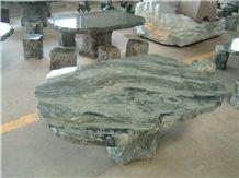 Granite Tabletop Green Jadite