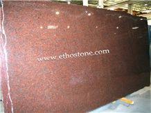 Africa Red Granite Slabs