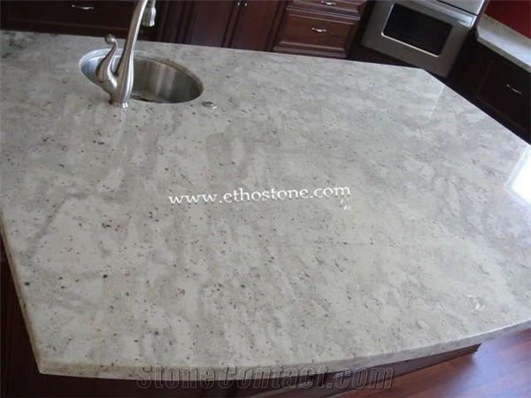 Andromeda White Granite Countertop From