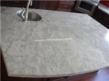 Andromeda White Granite Countertop