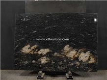 Cosmic Gold Granite Slab