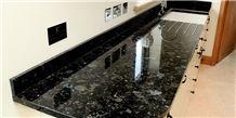 Ukraine Volga Classic Granite Vanity Top, Volga Blue Granite Kitchen Countertops