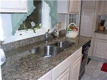 Key West Gold Granite Countertop, Key West Gold Brown Granite Countertop